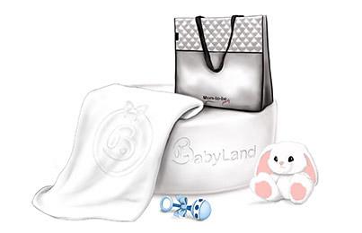 תיק ושמיכת תינוק איכותית במתנות
