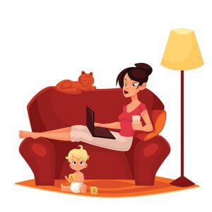אמא שוקעת או אמא משקיעה? (איור: שאטרסטוק)