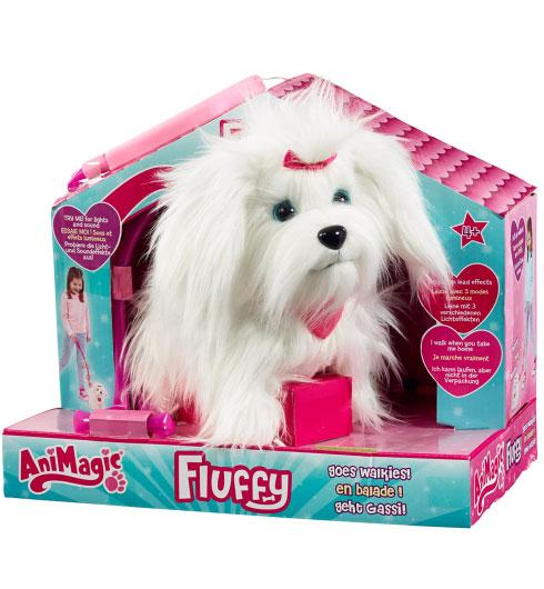 """הכלבה פלאפי. אנימג'יק (צילום: יח""""צ הנסיך הקטן)"""