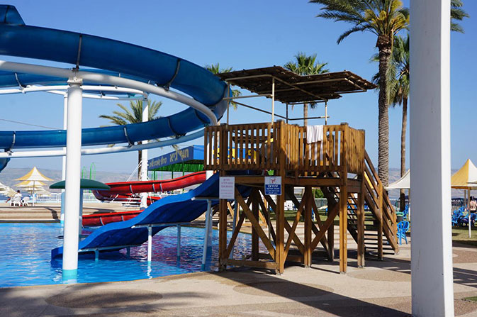 """פארק המים חוף גיא (צילום: יח""""צ)"""