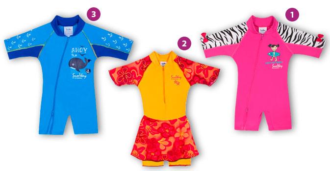 בגדי ים sunway לילדים