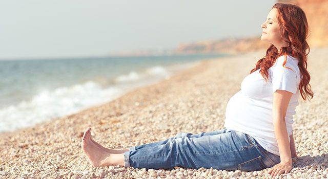 קיץ בהריון, הריון