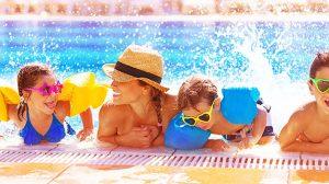טיול עם ילדים, חופשה עם ילדים, ילדים בבריכה