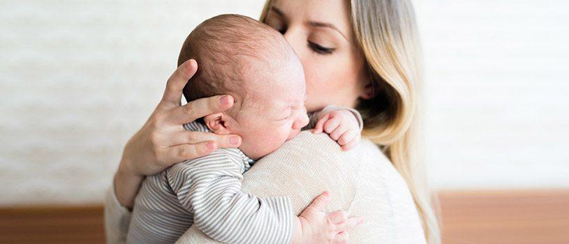 תינוק, אמא, ריפלוקס