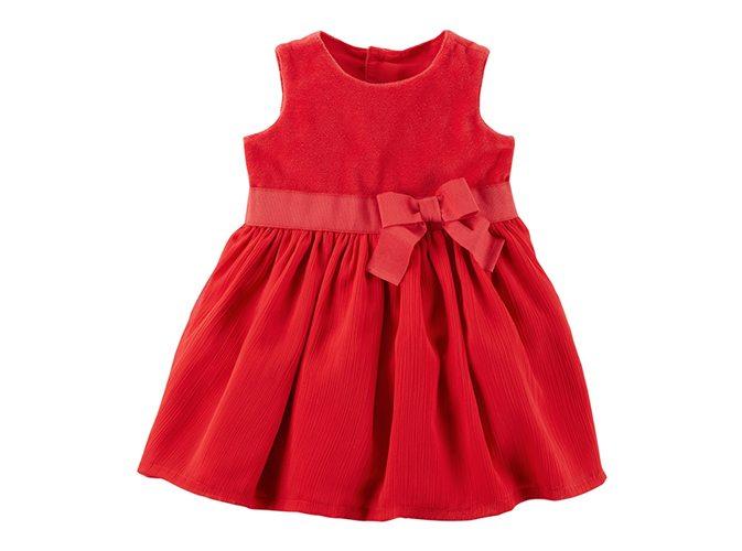 שמלה אדומה קרטרס