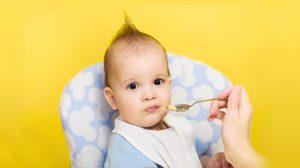 טעימות ראשונות, תינוק, כפית