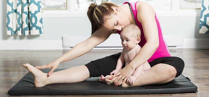 אמא, תינוק, כושר, ספורט