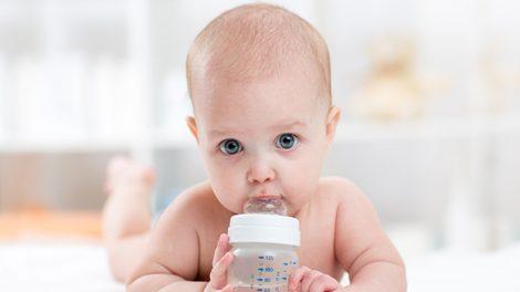 תינוק, בקבוק