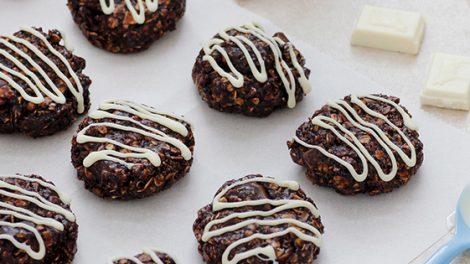 עוגיות שוקולד ושיבולת שועל