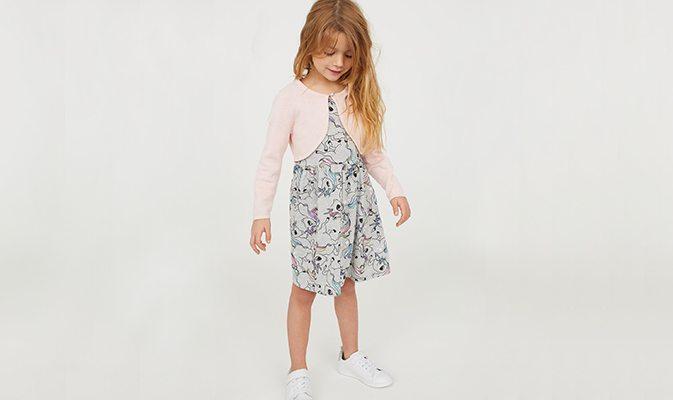 שמלה ועליונית לילדה
