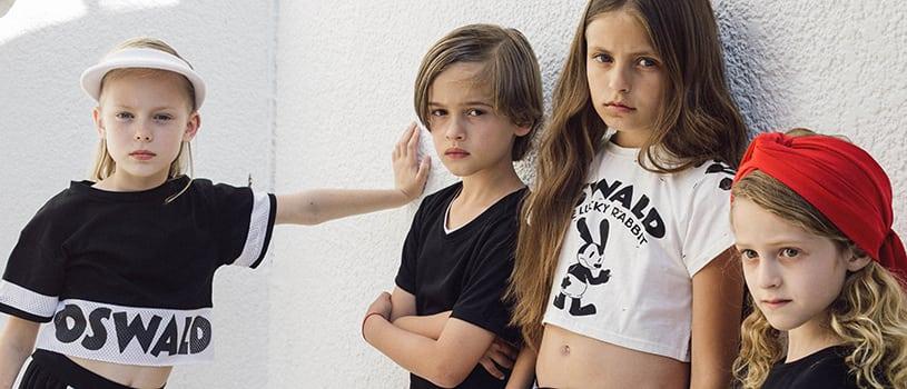 פלמינגו, בגדי ילדים