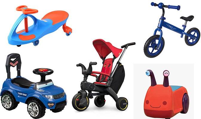 בימבות, אופניים לילדים, תלת אופן