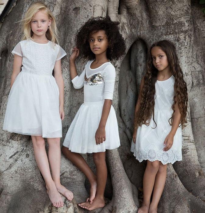 שמלות לבנות לילדות