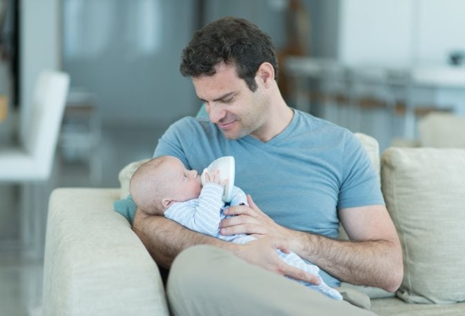 בקבוק האכלה לתינוק
