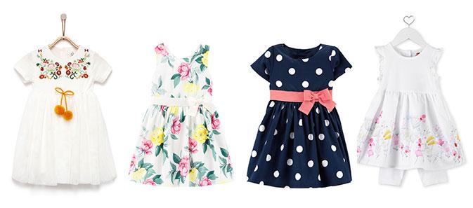 שמלות פרחוניות לילדות